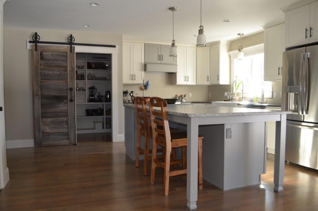 The Sliding Barn Door In Today S Kitchen Pantry Wood