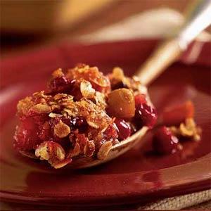 Apple Cranbery Crisp