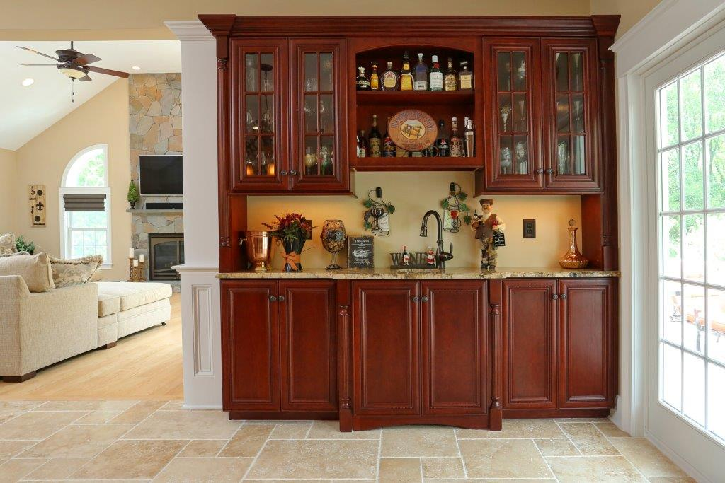Omega Cherry Cabinets  |Omega Cabinet Heaters