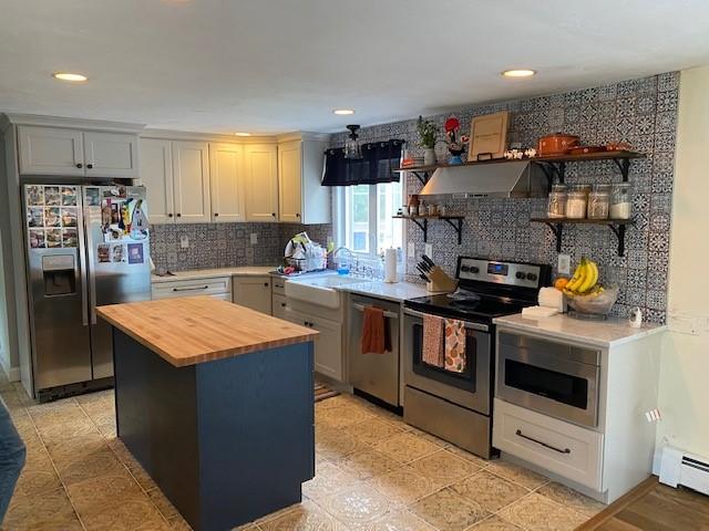 Refresh kitchen design after
